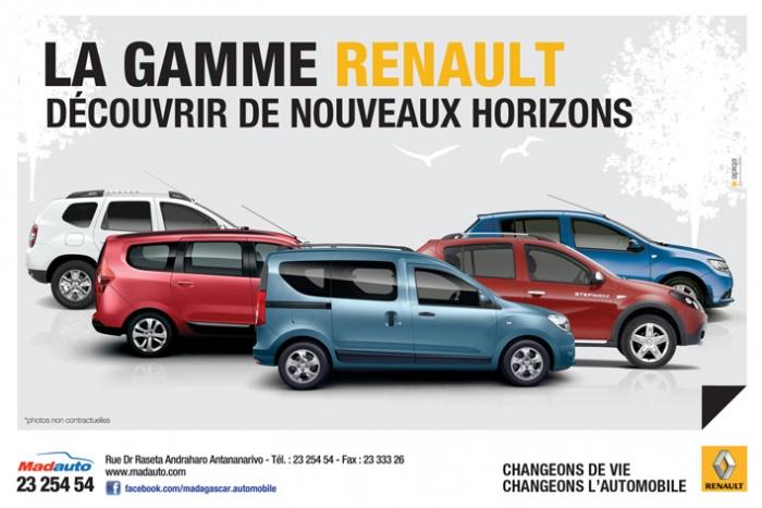 Nouveauté - Gamme Renault